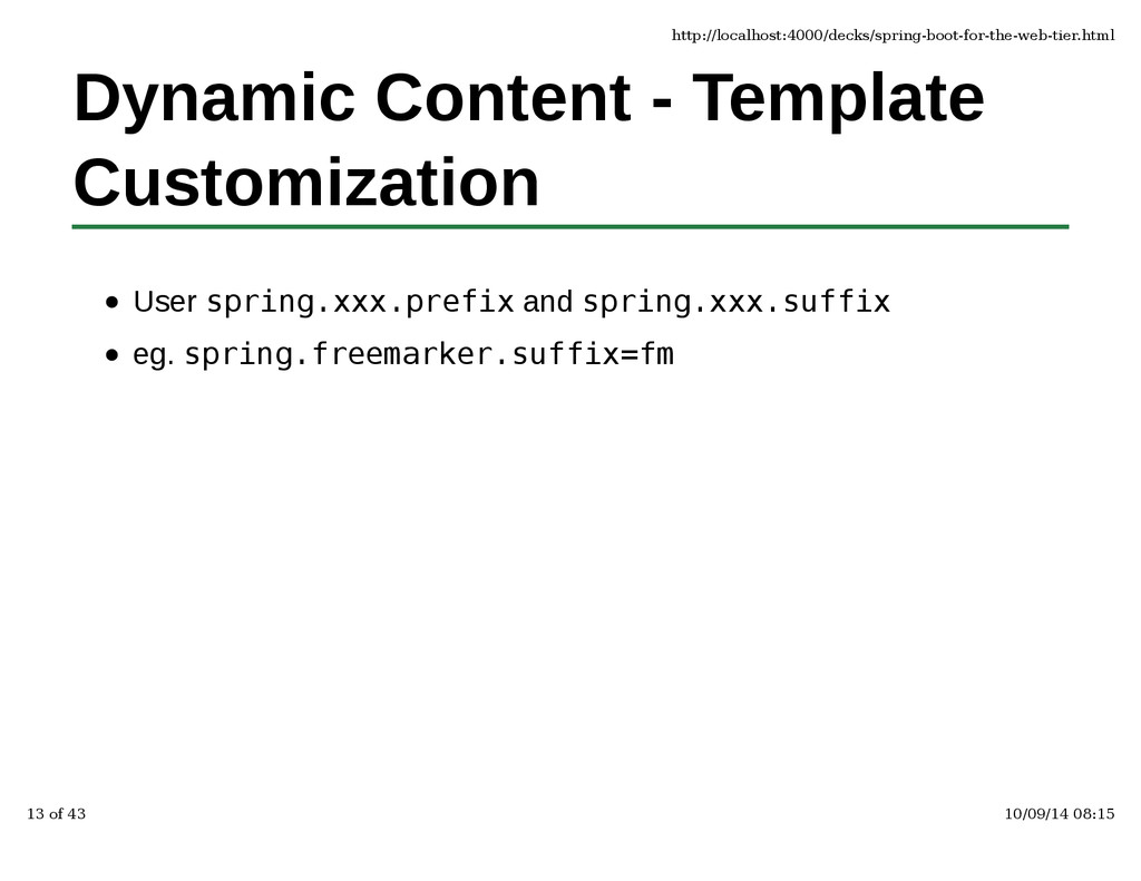 Dynamic Content - Template Customization User s...