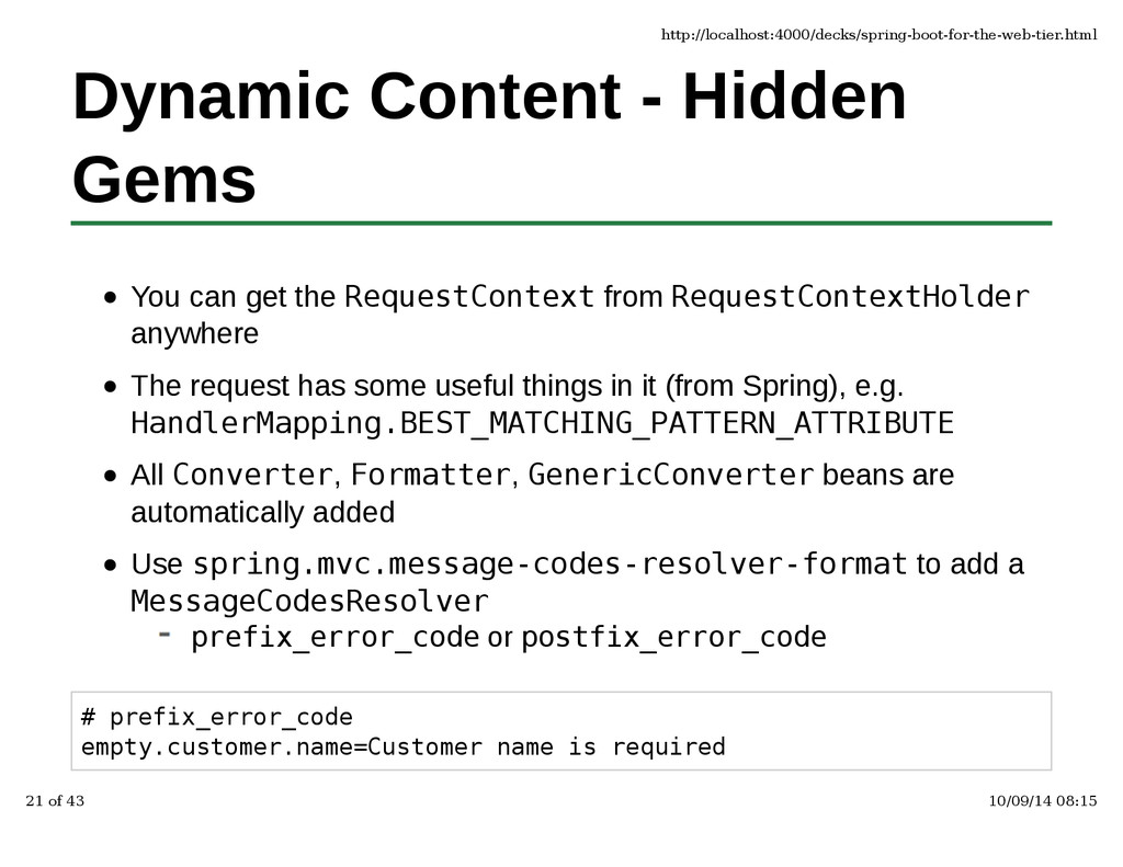 Dynamic Content - Hidden Gems You can get the R...