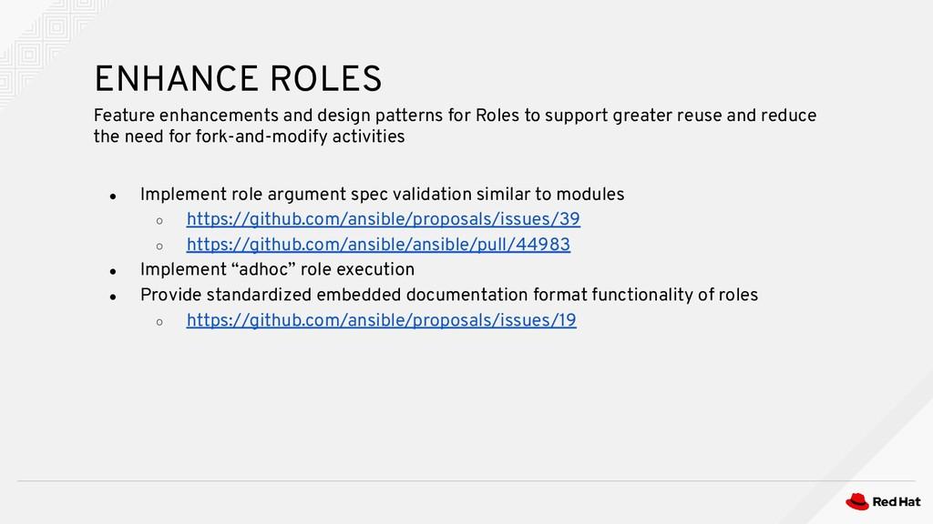 ● Implement role argument spec validation simil...