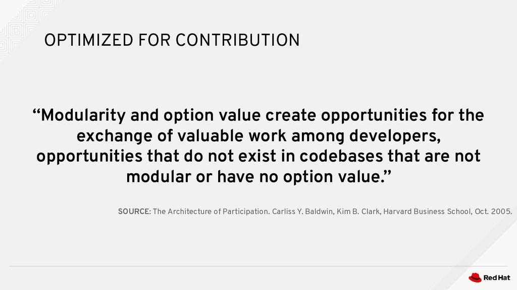 """Modularity and option value create opportuniti..."