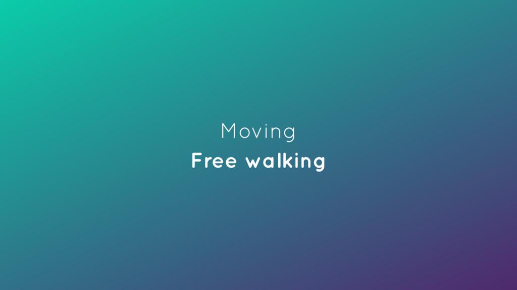 Moving Free walking