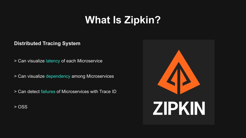 What Is Zipkin? Distributed Tracing System > Ca...