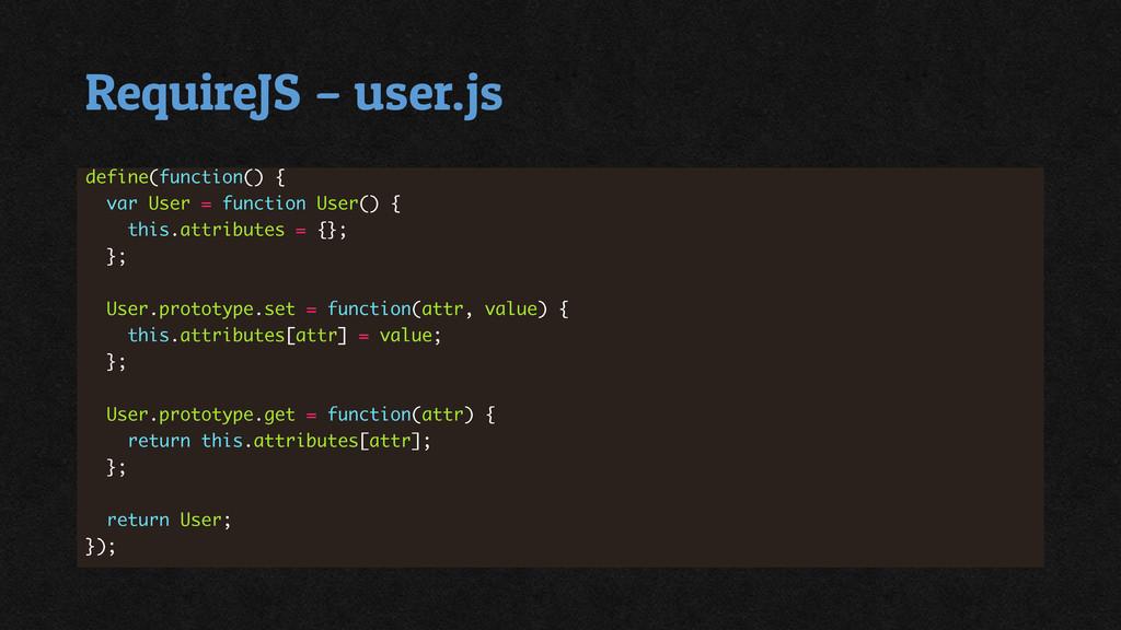RequireJS – user.js