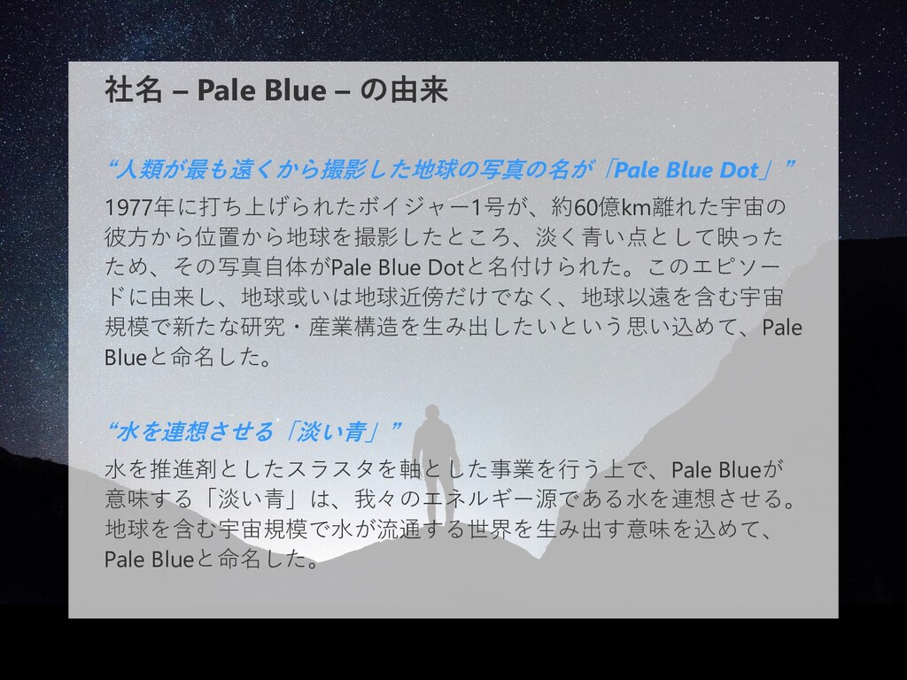 © Pale Blue Inc. 12 事業内容 水を推進剤とした推進機を提供することで、 小...