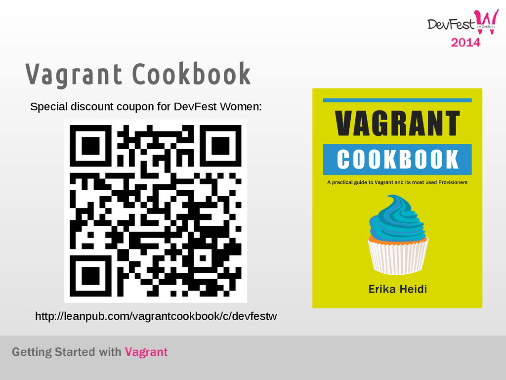 Vagrant Cookbook Special discount coupon for De...