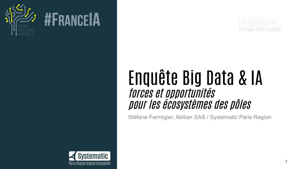 3 Enquête Big Data & IA forces et opportunités ...