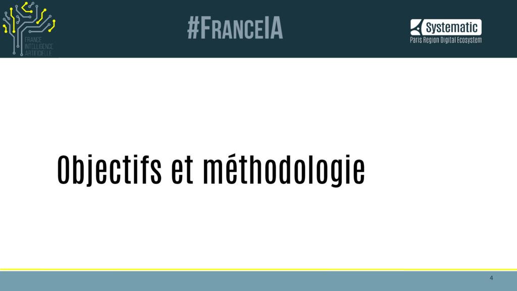 4 4 Objectifs et méthodologie