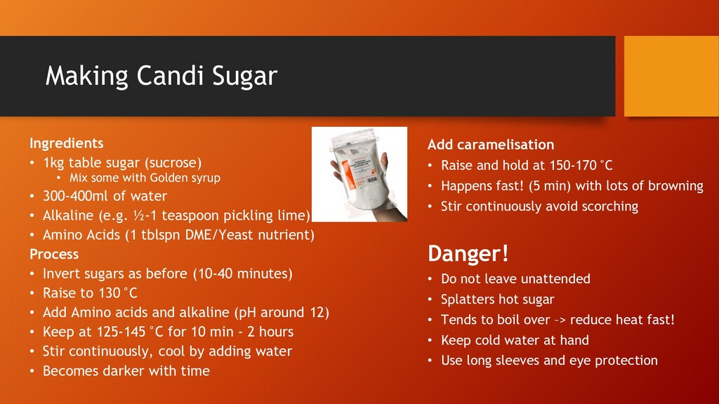 Making Candi Sugar Ingredients • 1kg table suga...