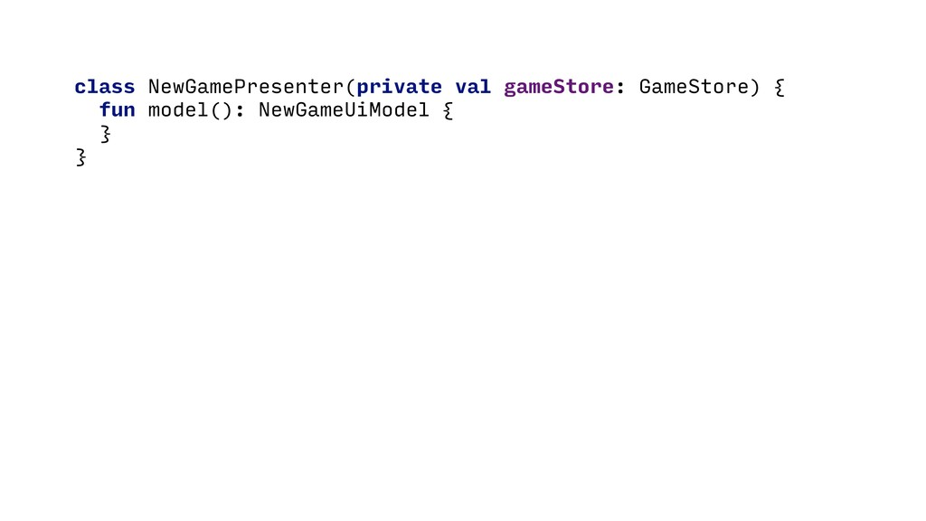 class NewGamePresenter(private val gameStore: G...