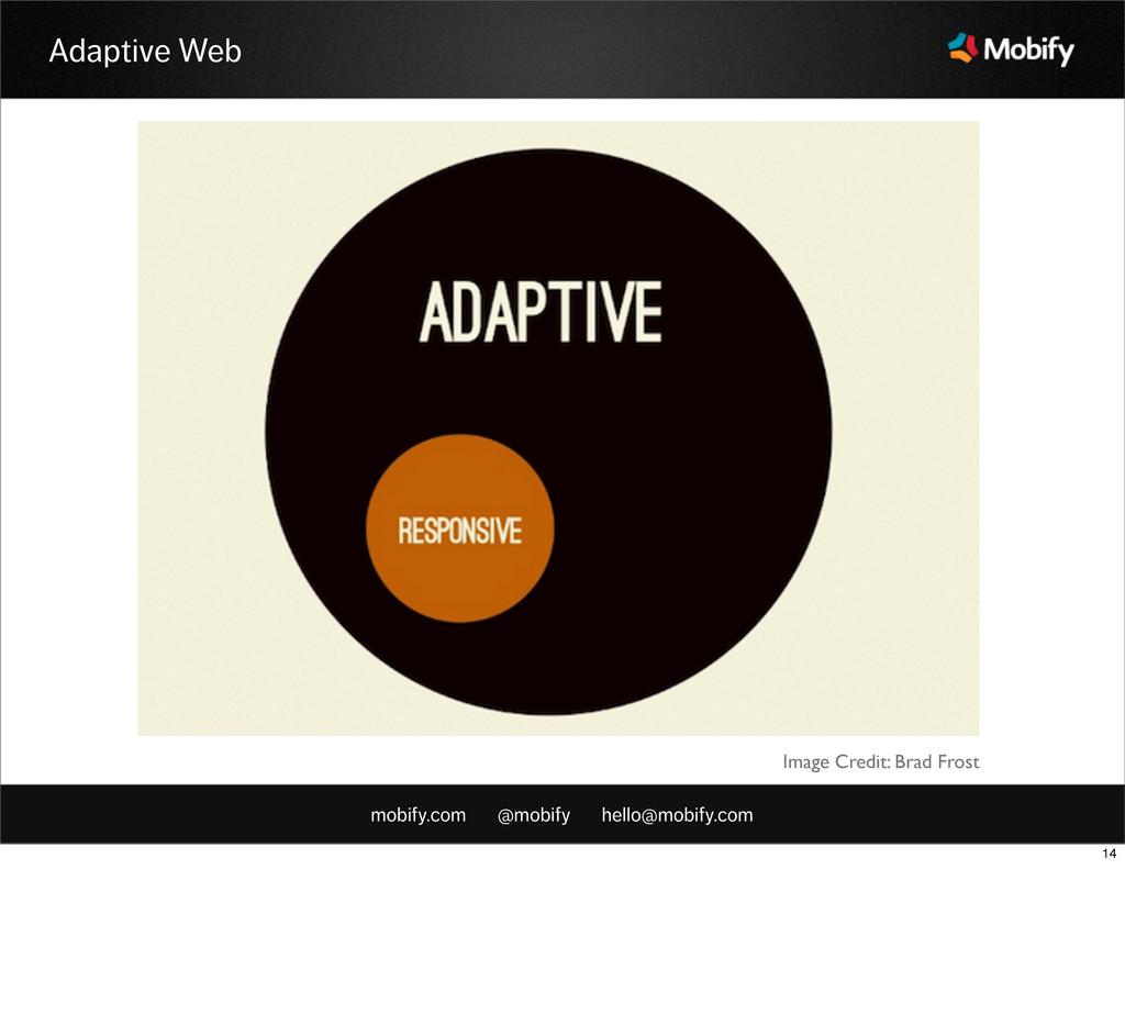 mobify.com @mobify hello@mobify.com Adaptive We...
