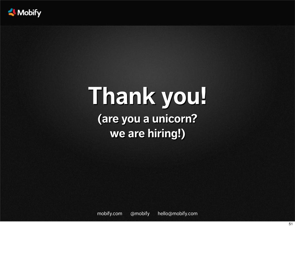 mobify.com @mobify hello@mobify.com Thank you! ...