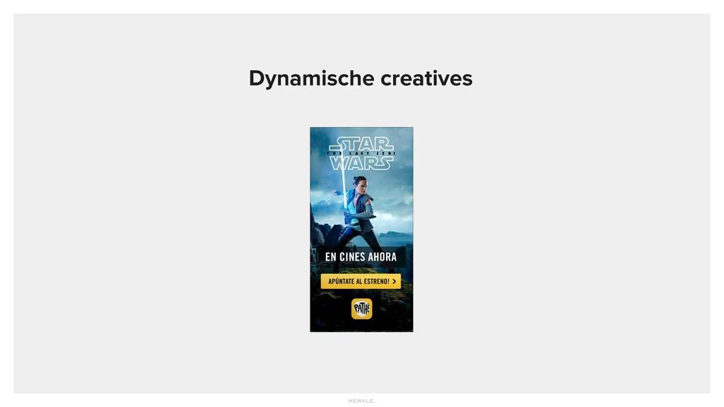 Dynamische creatives