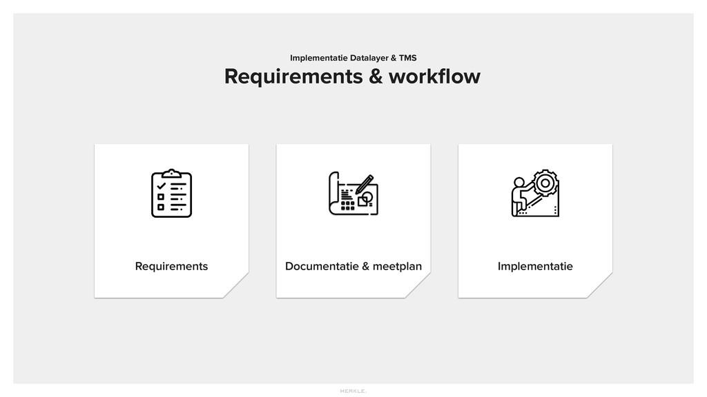 Requirements Implementatie Documentatie & meetp...