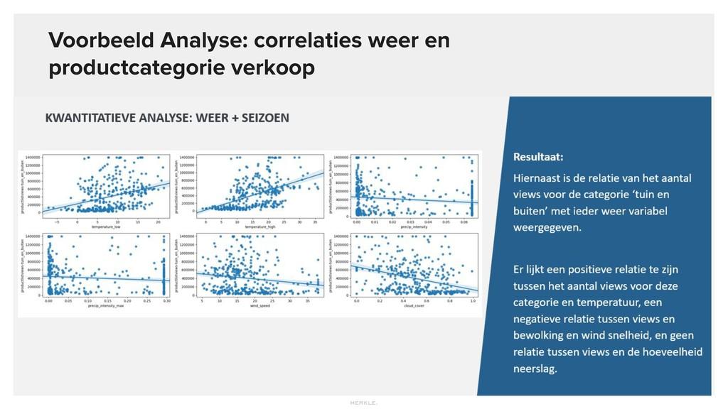 Voorbeeld Analyse: correlaties weer en productc...