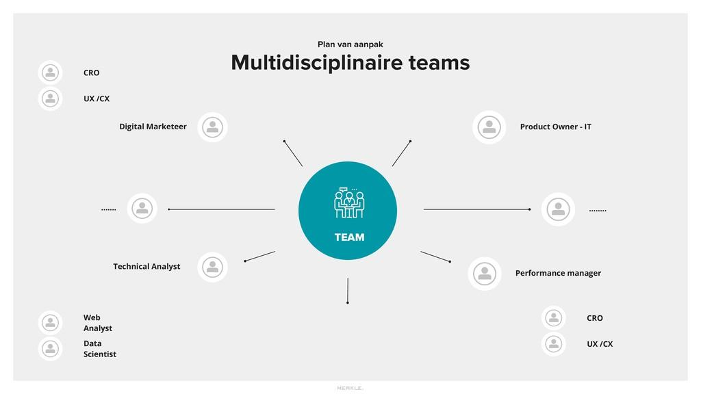 Plan van aanpak Multidisciplinaire teams TEAM D...