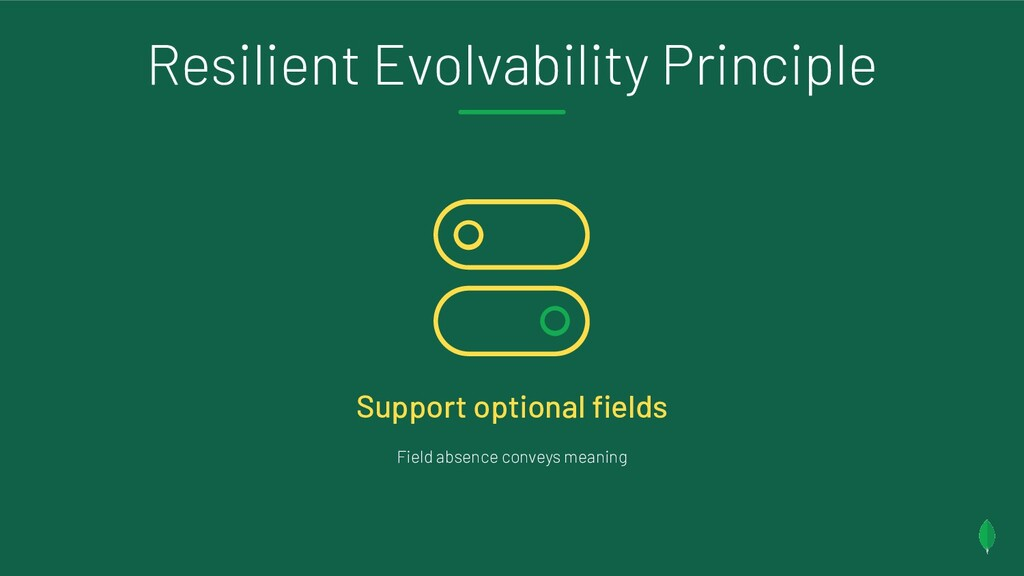 Resilient Evolvability Principle Support option...