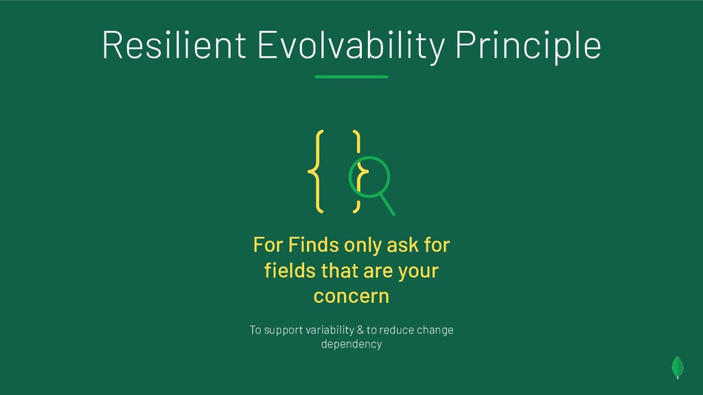 Resilient Evolvability Principle For Finds only...