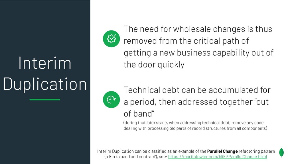 The need for wholesale changes is thus removed ...