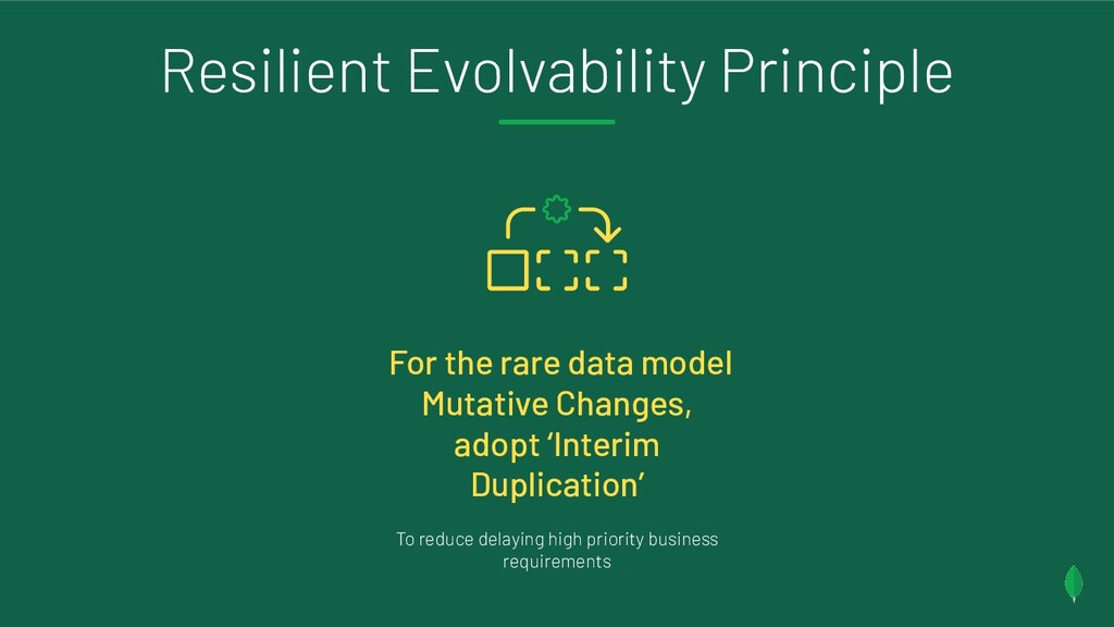 Resilient Evolvability Principle For the rare d...