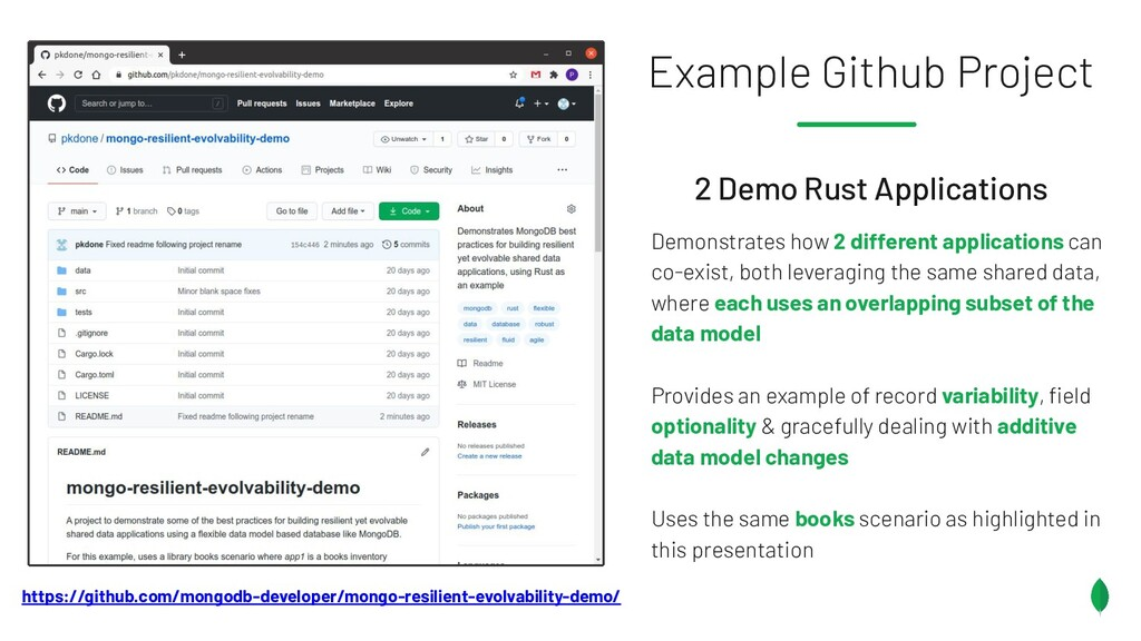 2 Demo Rust Applications Demonstrates how 2 dif...