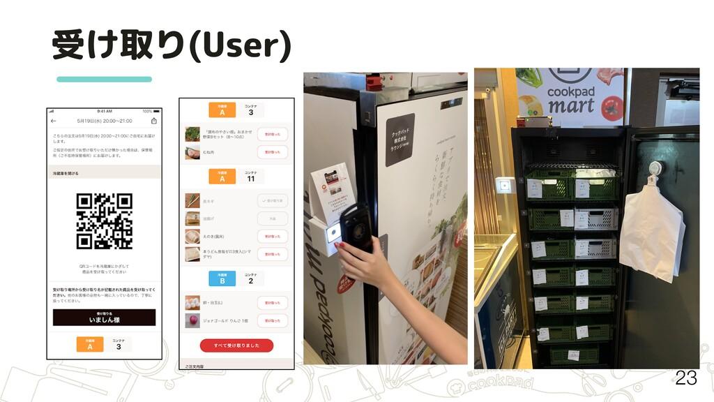 受け取り(User) 23