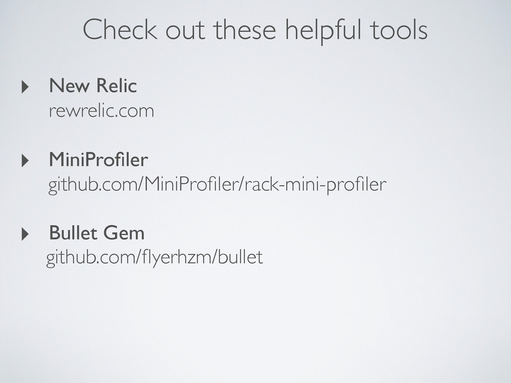 Check out these helpful tools ‣ New Relic rewre...