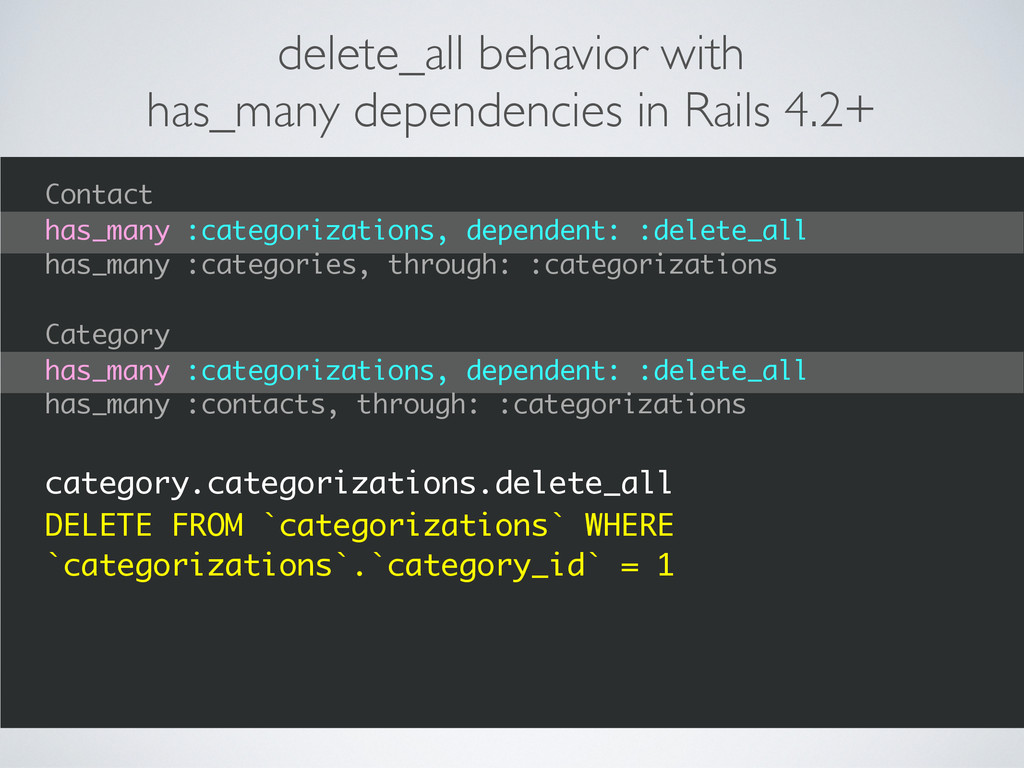 delete_all behavior with has_many dependencies ...