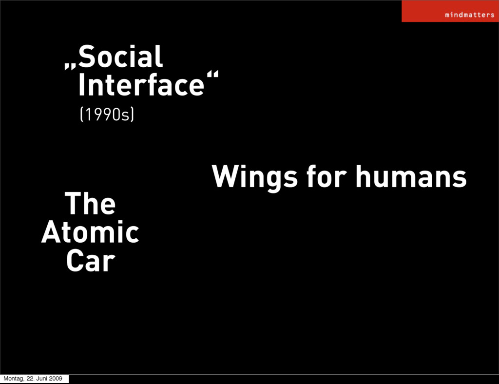 """""""Social Interface"""" Wings for humans (1990s) The..."""
