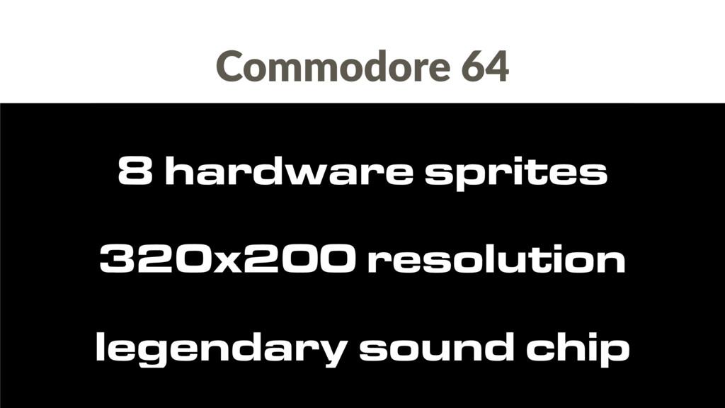 Commodore 64 legendary sound chip 320x200 resol...