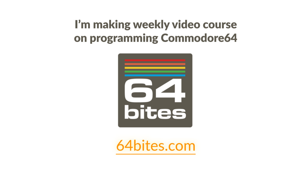I'm making weekly video course on programming C...