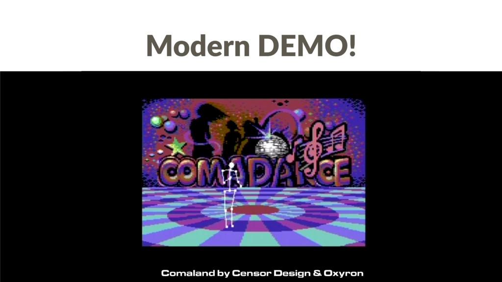 Comaland by Censor Design & Oxyron Modern DEMO!