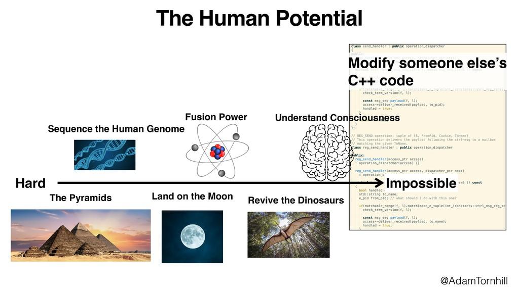 Modify someone else's C++ code The Human Potent...