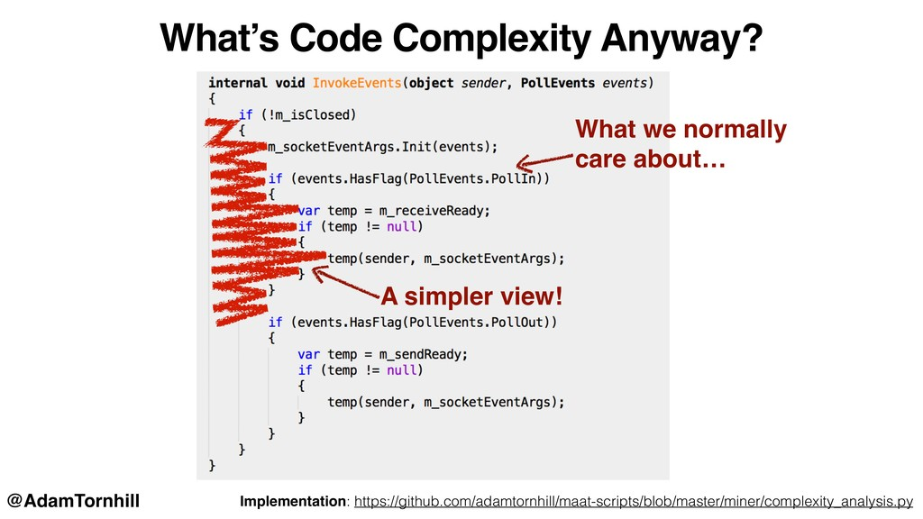 What we normally care about… A simpler view! Re...