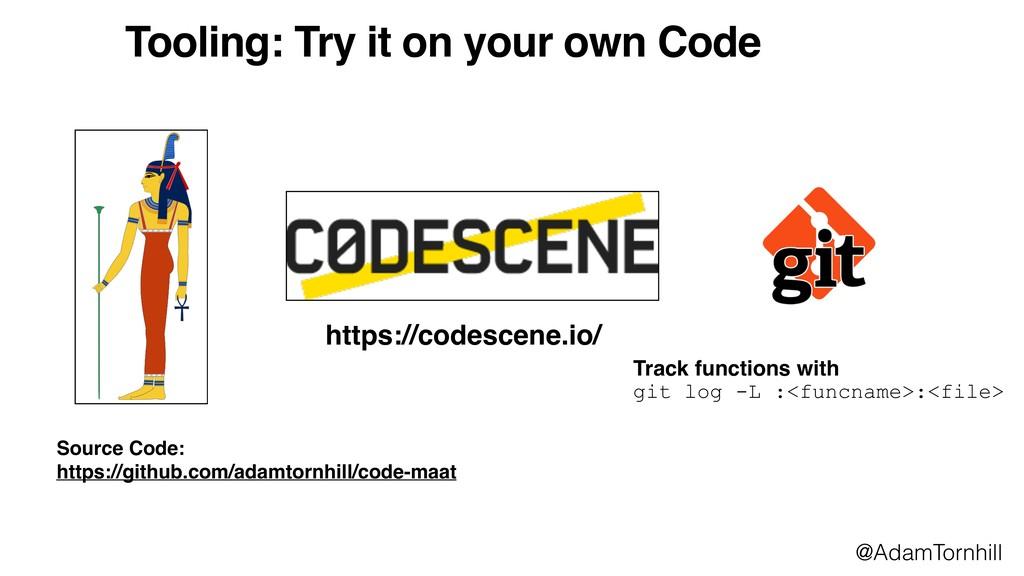 https://codescene.io/ Source Code:  https://gi...