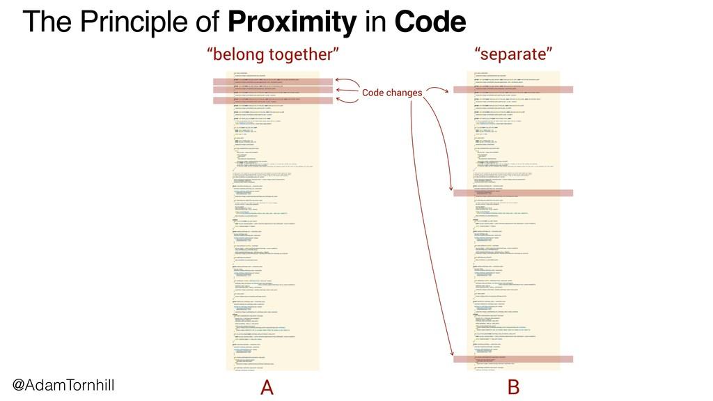 The Principle of Proximity in Code @AdamTornhill