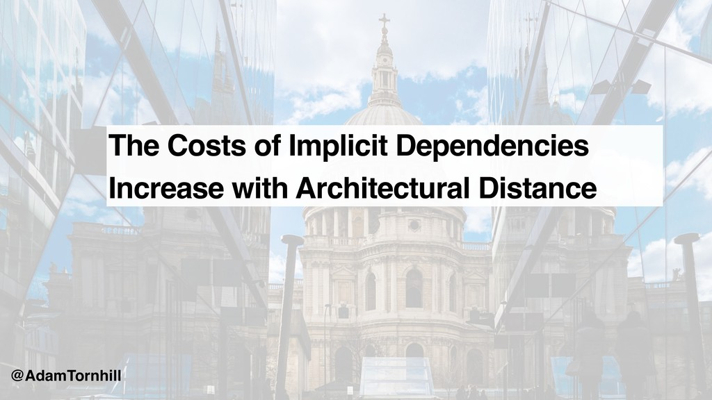 The Costs of Implicit Dependencies Increase wit...