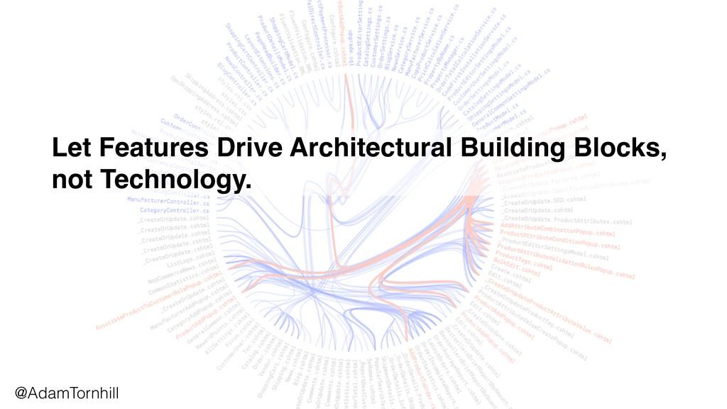 Let Features Drive Architectural Building Block...
