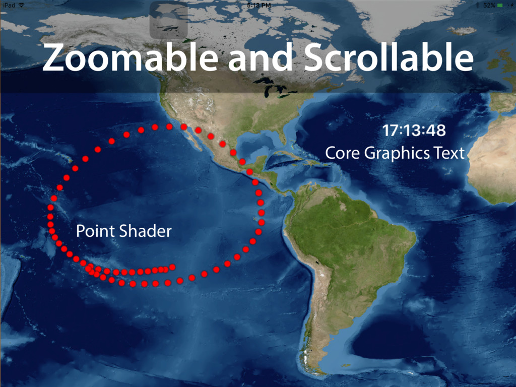 Zoomable and Scrollable Point Shader Core Graph...