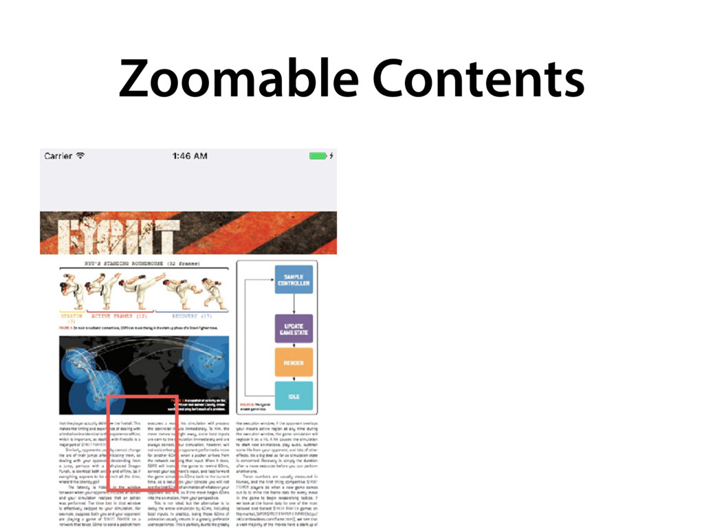 Zoomable Contents