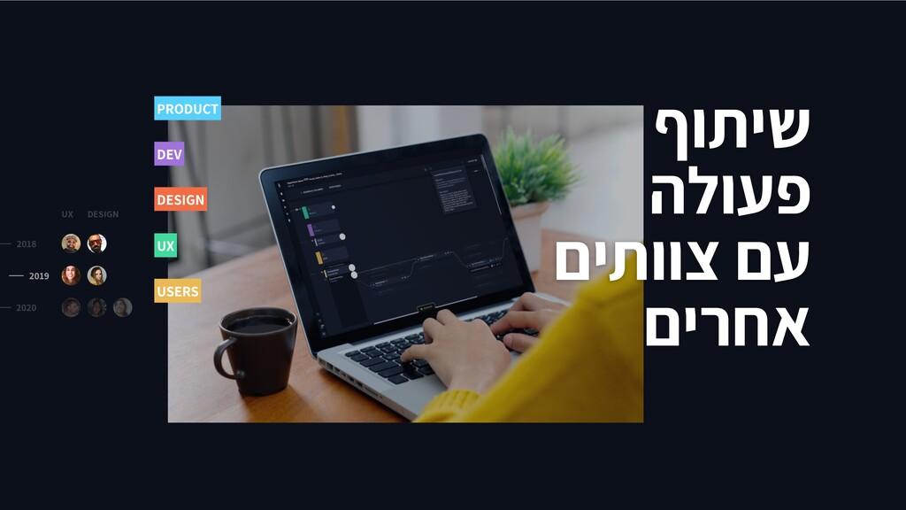 ףותיש הלועפ םיתווצ םע םירחא UX DESIGN