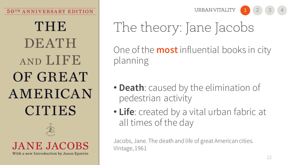 The theory: Jane Jacobs One of the most influen...