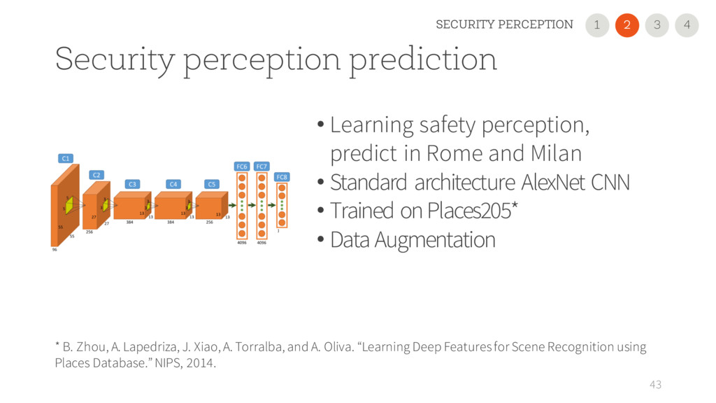Security perception prediction • Learning safet...