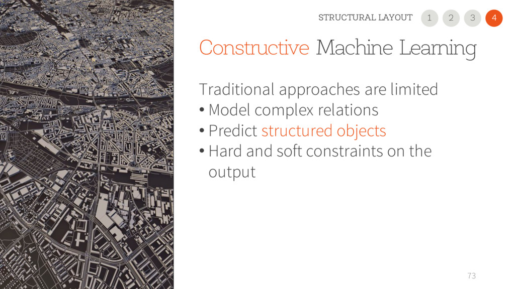 Constructive Machine Learning Traditional appro...