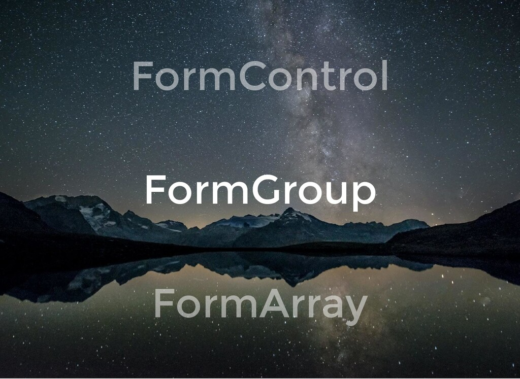 FormControl FormGroup FormArray