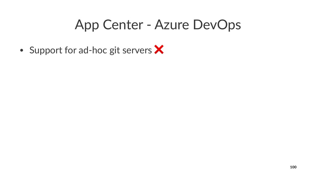 App Center - Azure DevOps • Support for ad-hoc ...