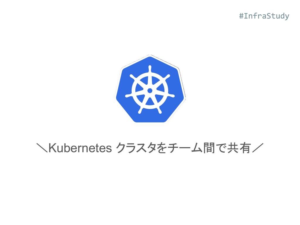 \Kubernetes クラスタをチーム間で共有/