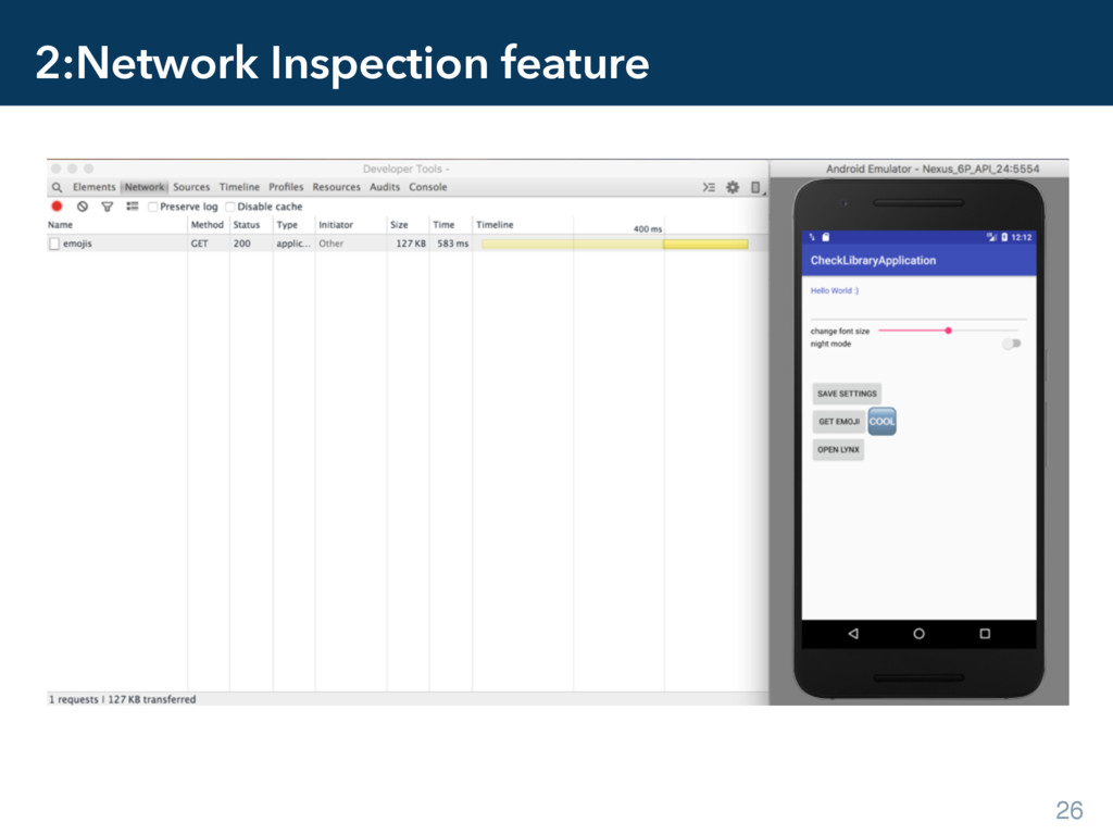 2:Network Inspection feature 26