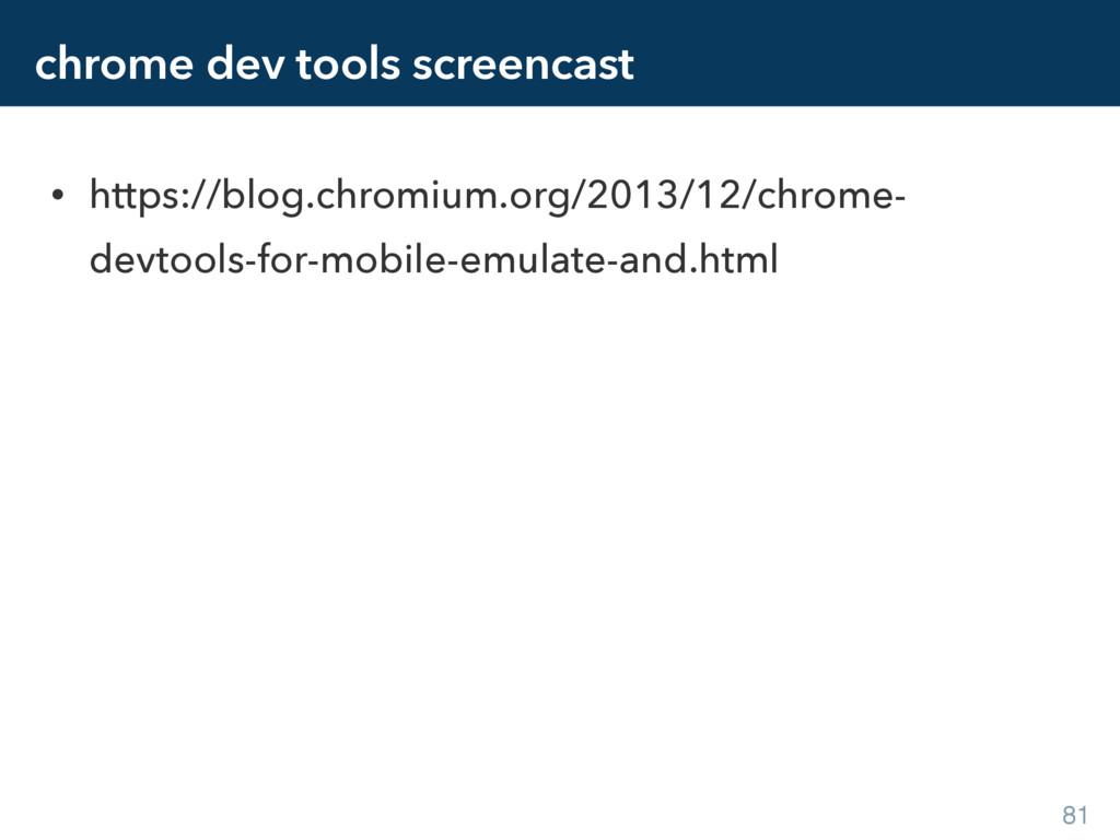 chrome dev tools screencast • https://blog.chro...