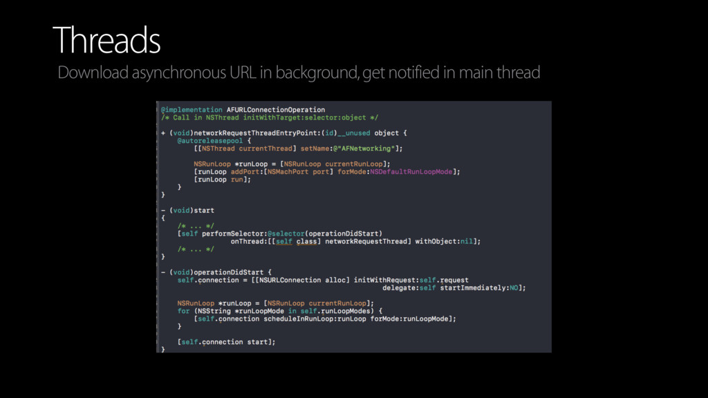 Threads Download asynchronous URL in background...