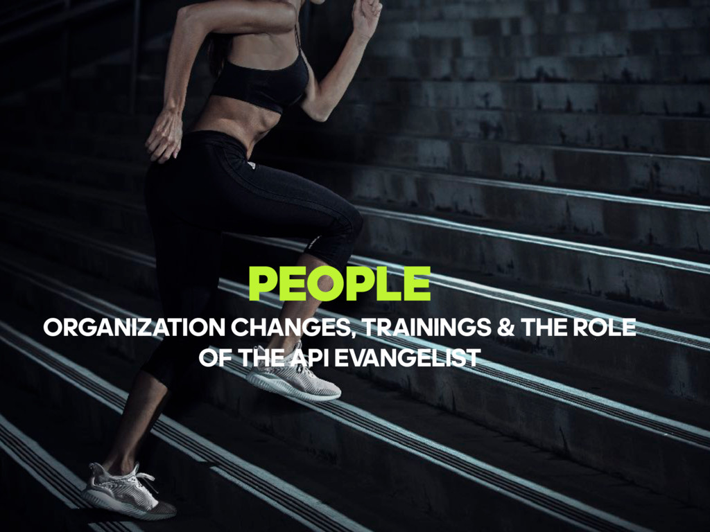 PEOPLE ORGANIZATION CHANGES, TRAININGS & THE RO...